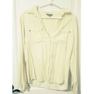 Light Yellow button up top